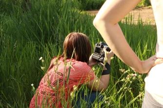 Die Fotografinnen im Busch
